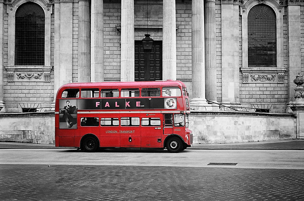 The Classic Red Bus | London UK 2014